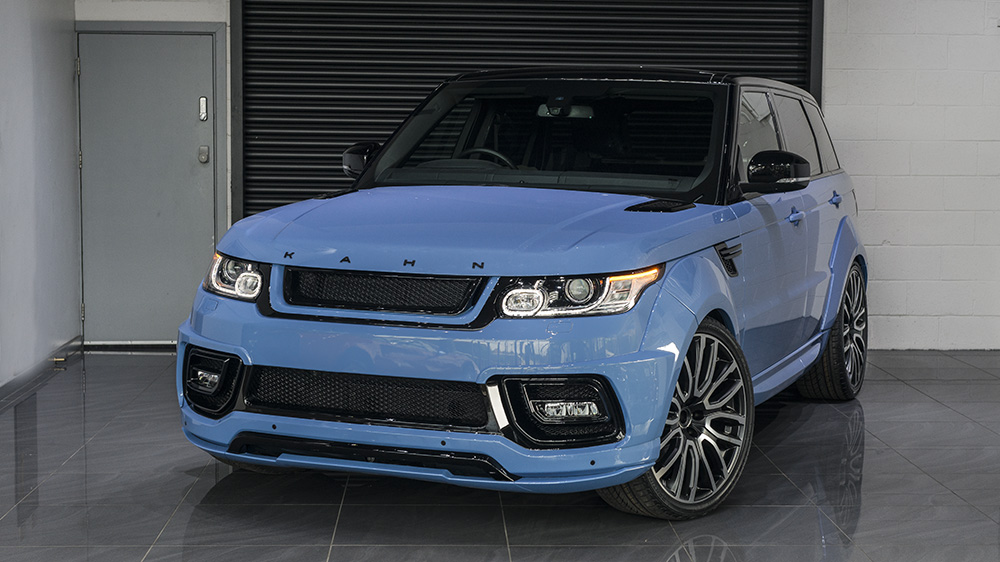 Project Kahn Powder Blue Pearl Range Rover Sport ...