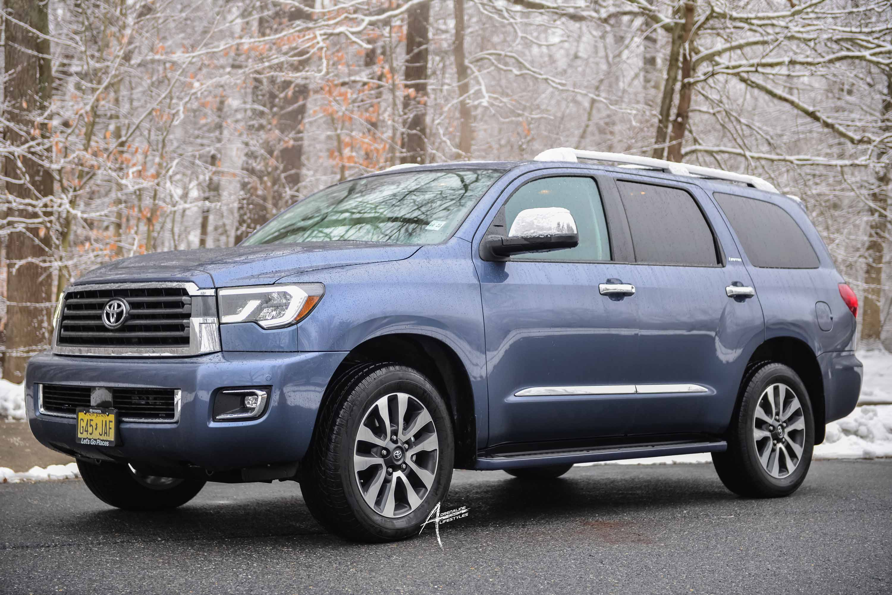 Winter time in the 2019 Toyota Sequoia - Adrenaline Lifestyles